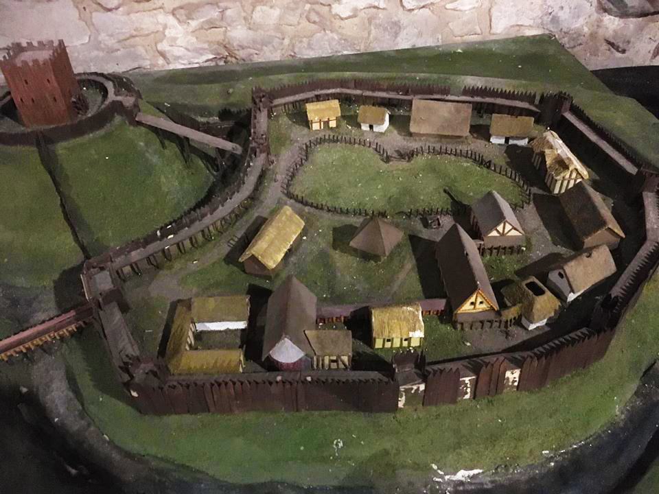 Model Of Dudley Castle